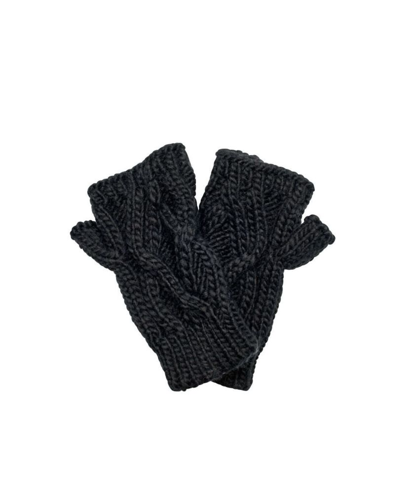 San Diego Hat Company: Women's Solid Cable Knit Gloves