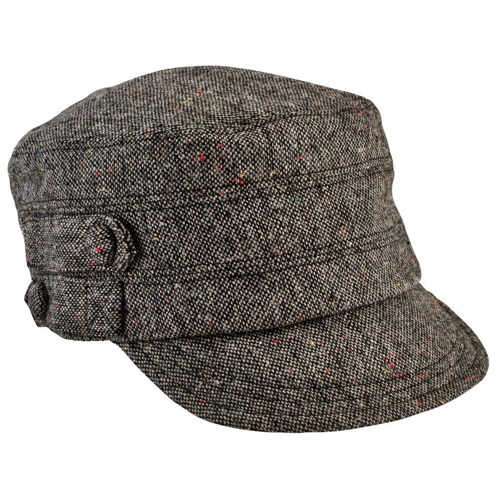 San Diego Hat Company: Women's Speckled Tweed Cap