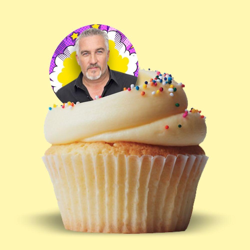 Paul Hollywood Edible Cake Topper