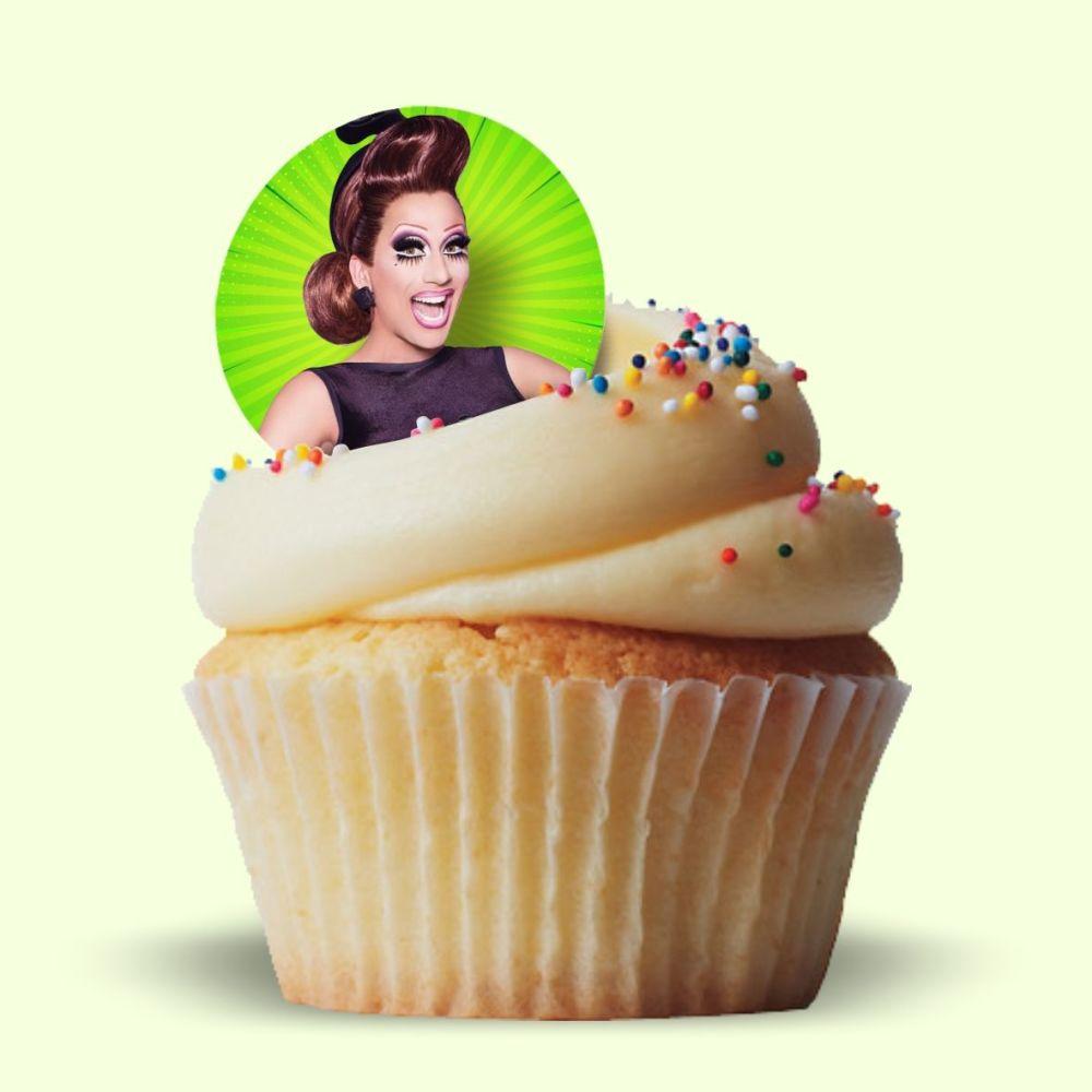 Bianca Del Rio Edible Cake Toppers.