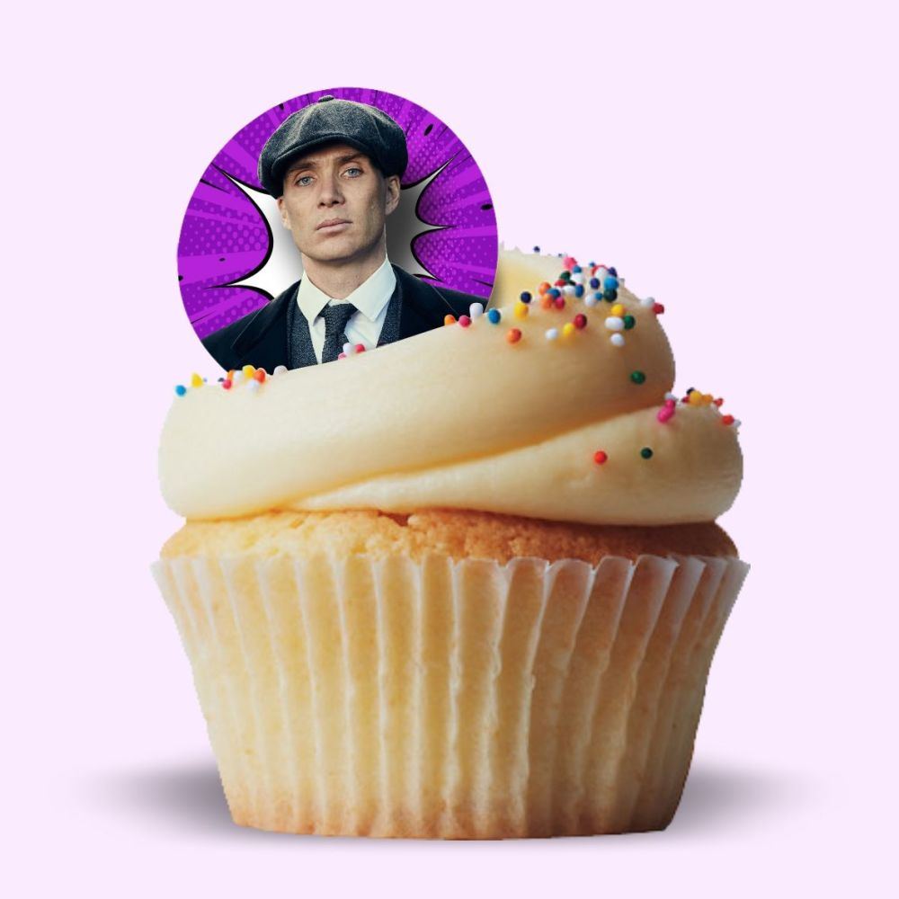 Tommy Shelby Edible Cake Topper
