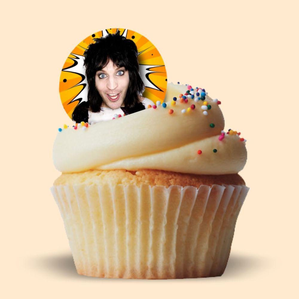 Noel Fielding Edible Cake Topper