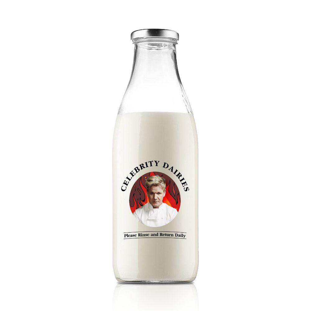 Celebrity Milk Bottles
