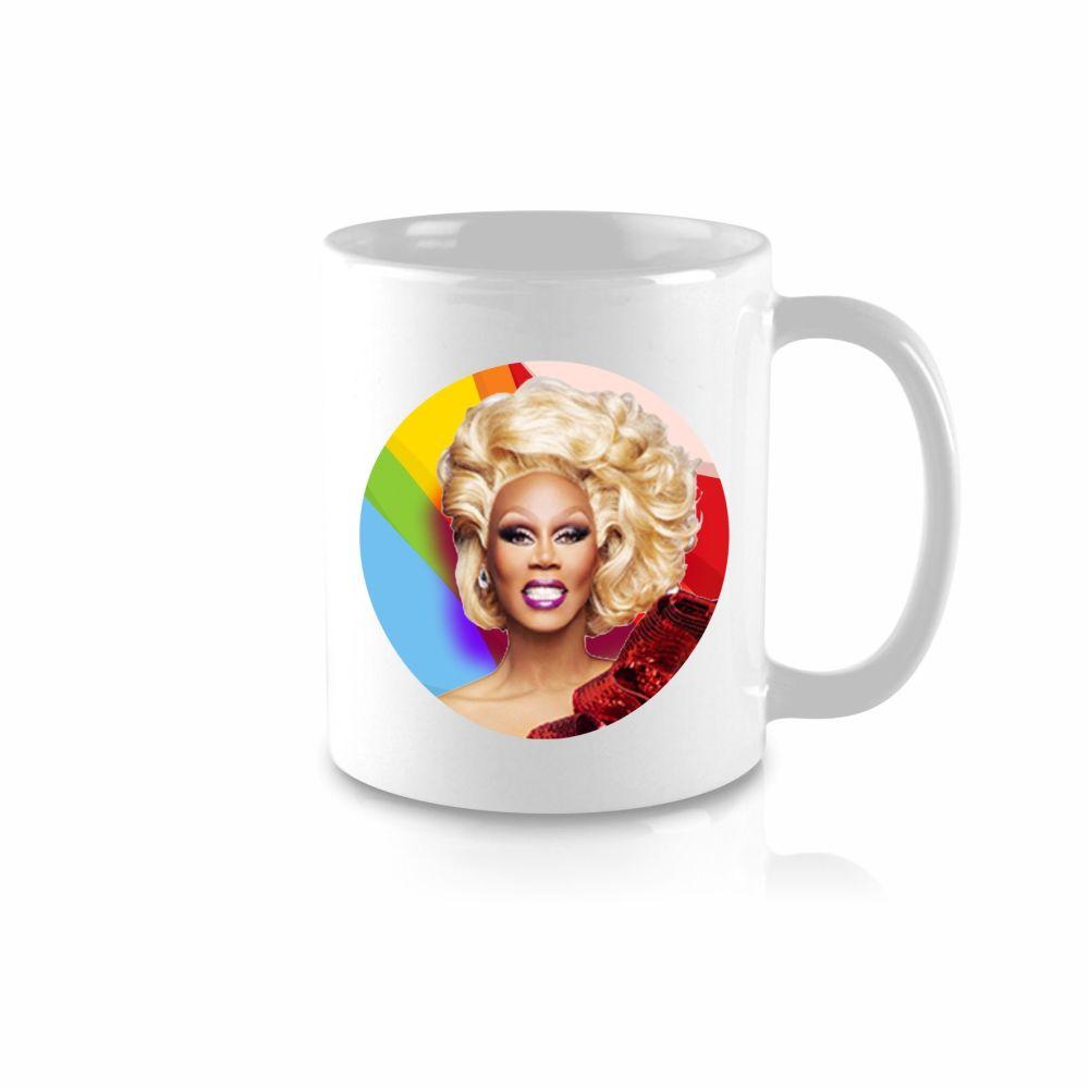Ru Paul Celebrity Mug