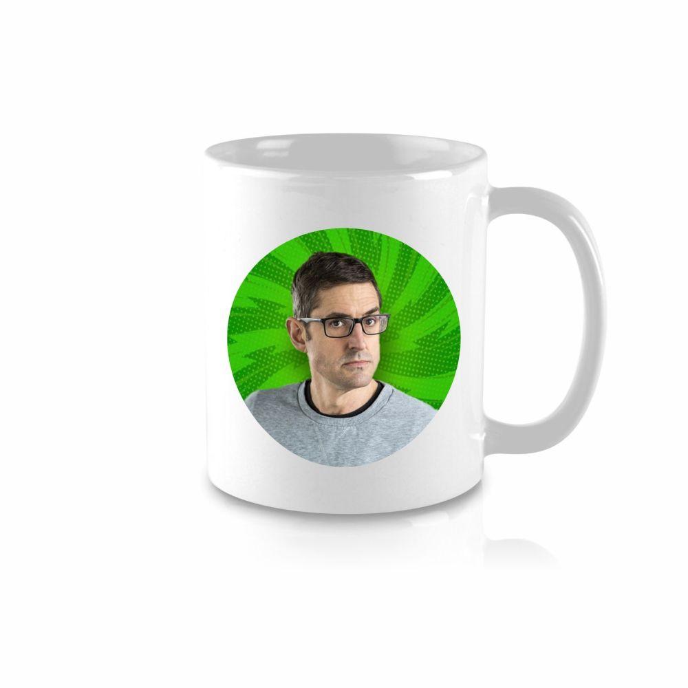 Louis Theroux Celebrity Mug