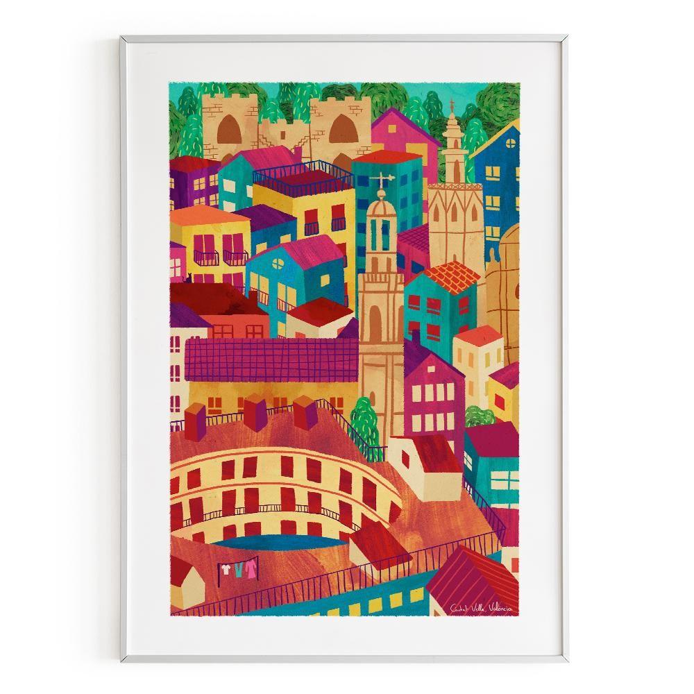 La Postalera : Art Poster . Ciutat Vella