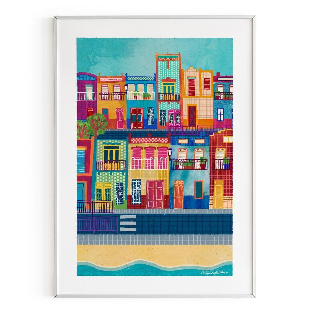 La Postalera : Art Poster. El Cabanyal