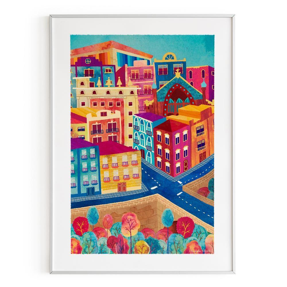 La Postalera : Art Poster L'Eixample