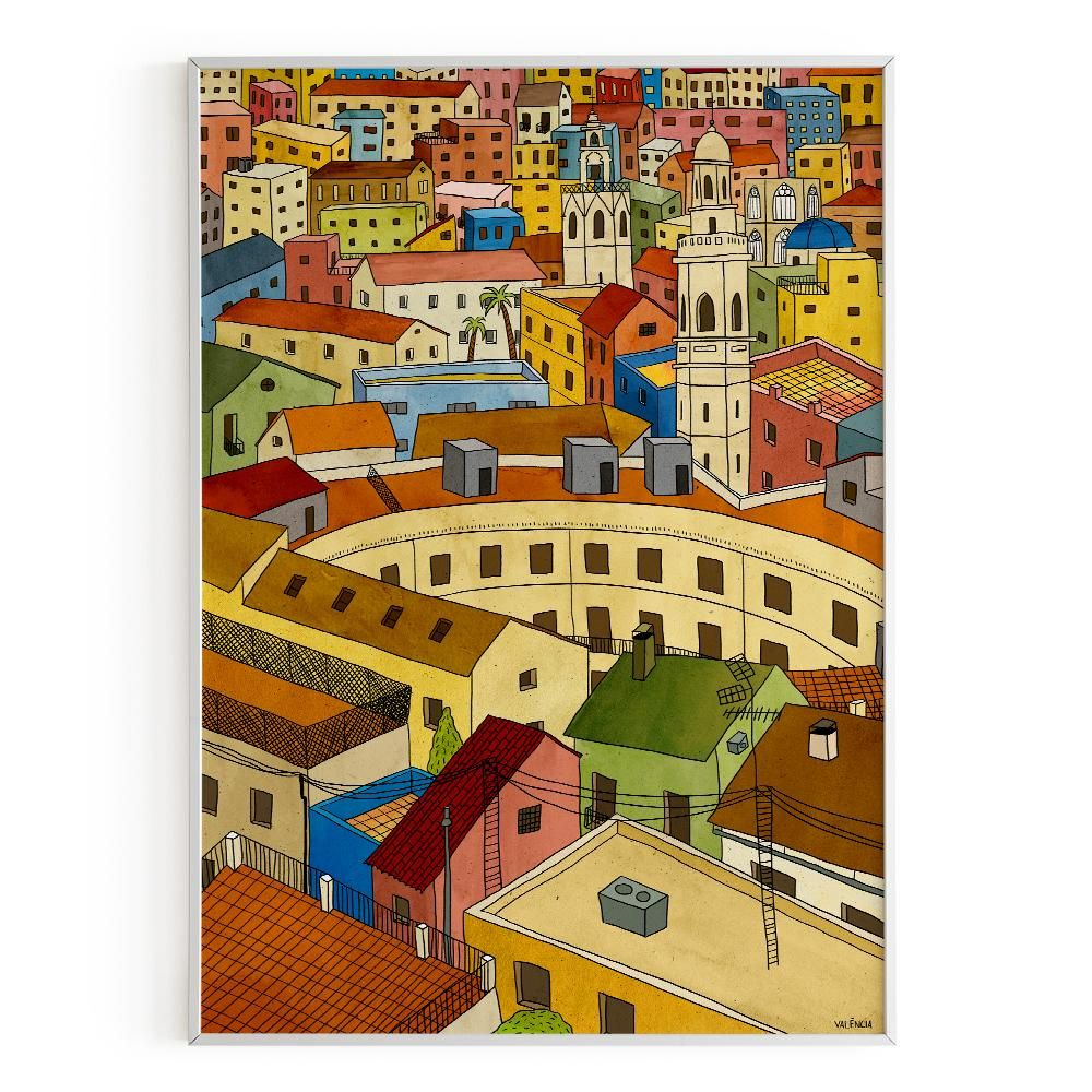 La Postalera : Art Poster Redona Square