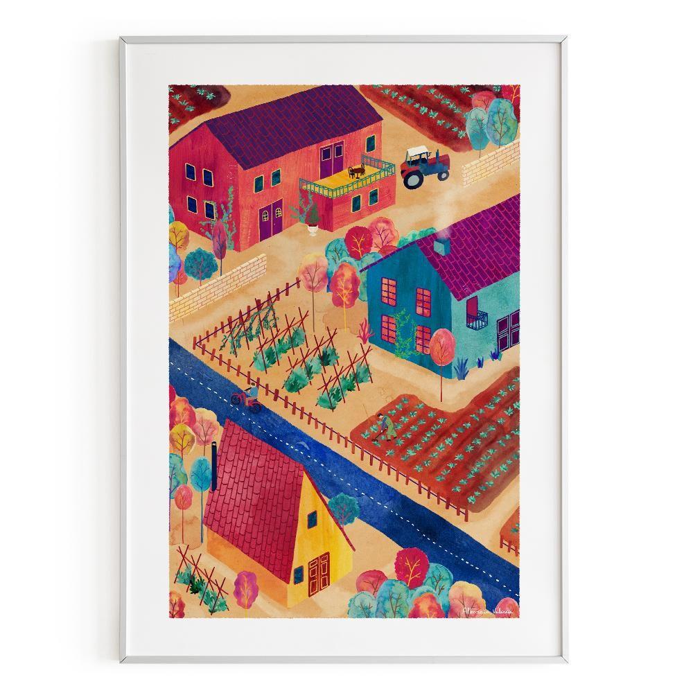 La Postalera : Art Poster. Alboraia