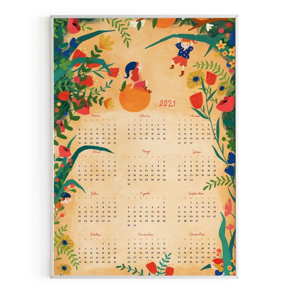 La Postalera : Art Poster. Calendar 2021 Poster