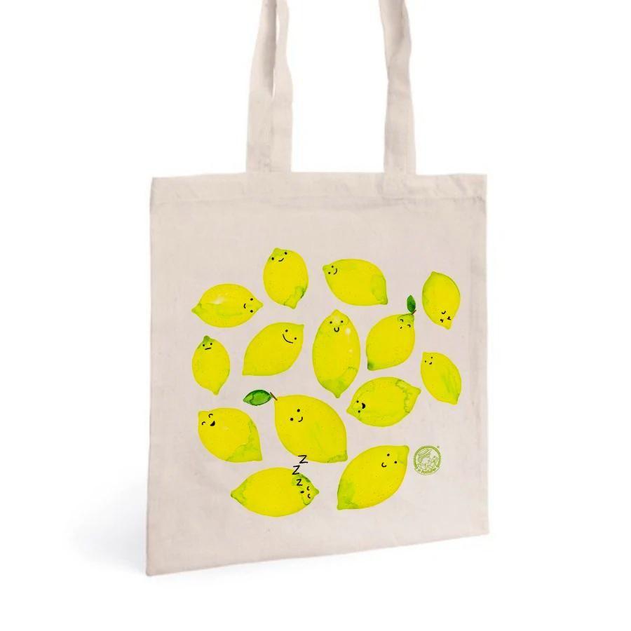 La Postalera: Tote Bag with Valencia lemons