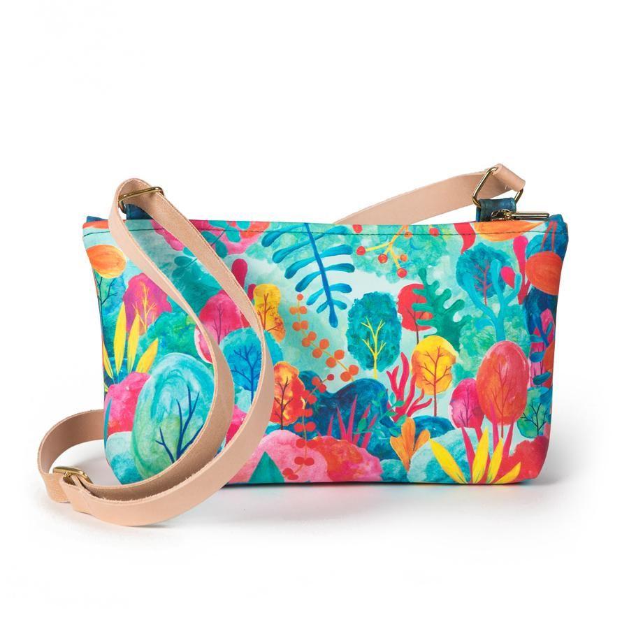 La Postalera: Small bag Colorful Forest