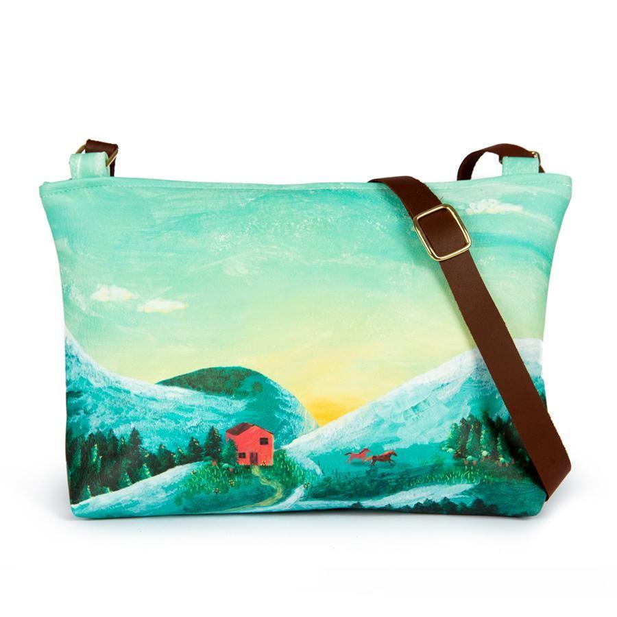 La Postalera: Large bag Mountains design