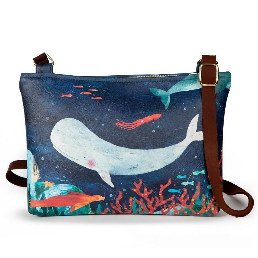 La Postalera: Large bag Marine design