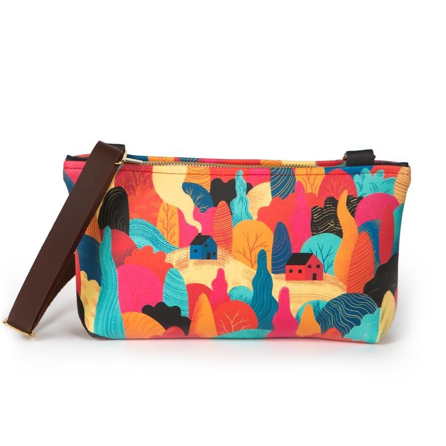 La Postalera: Small bag Forest and Mountain Design