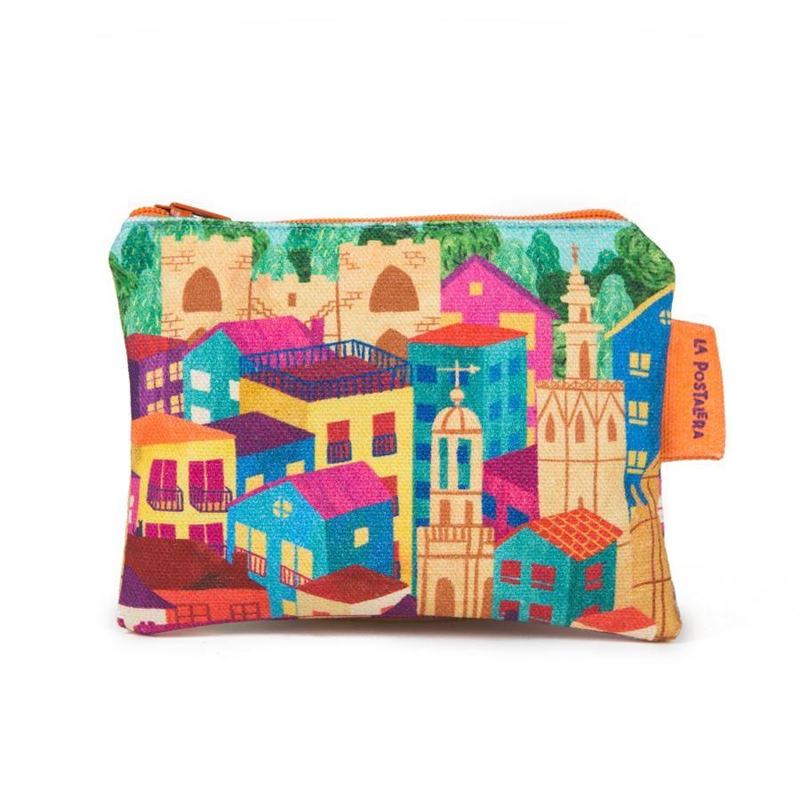 La Postalera: Printed Purse - Ciutat Vella