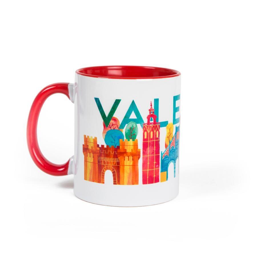 La Postalera: Red Mug - Valencia