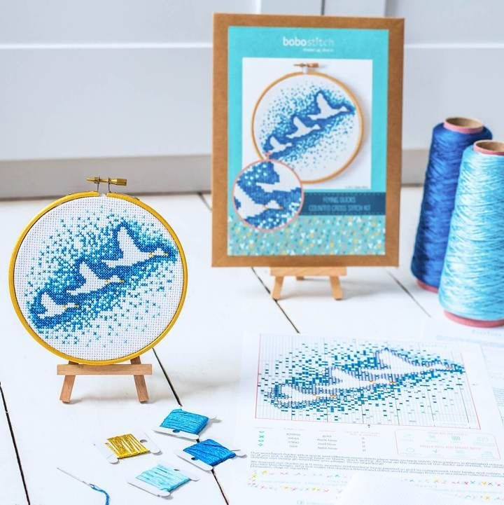 Bobo Stitch: The Pretty Little Hoops Collection