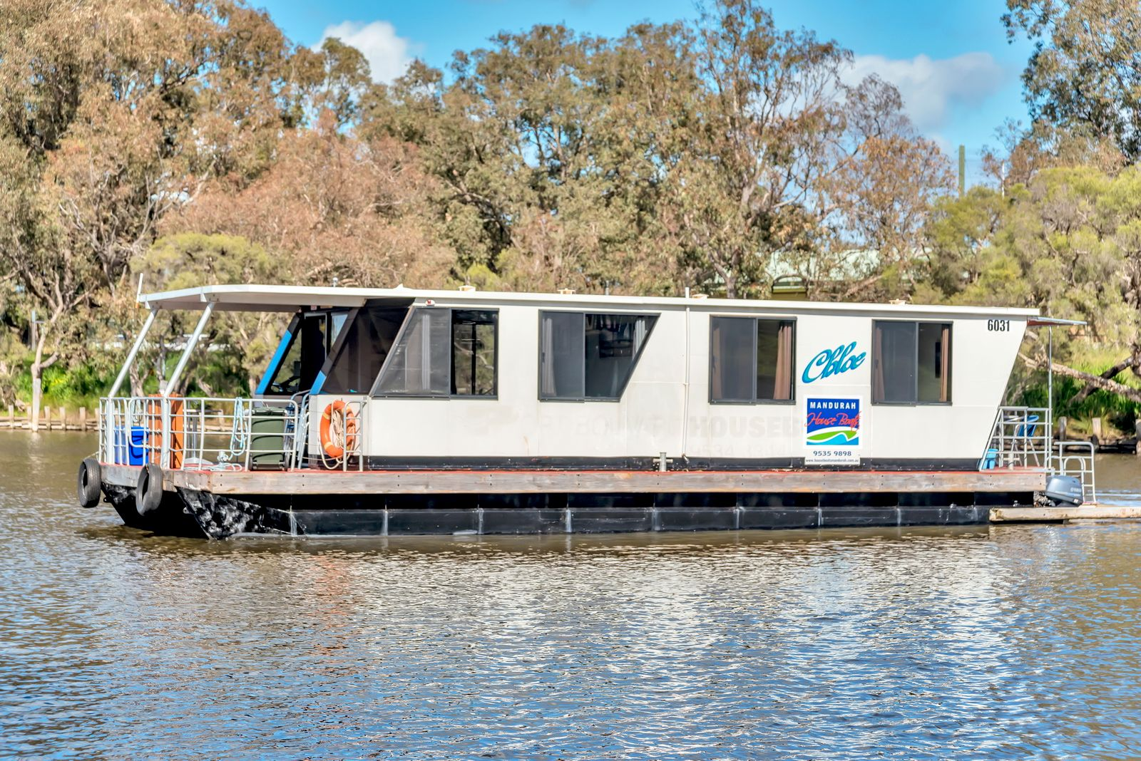 Mandurah Holidays on board a Houseboat in WA