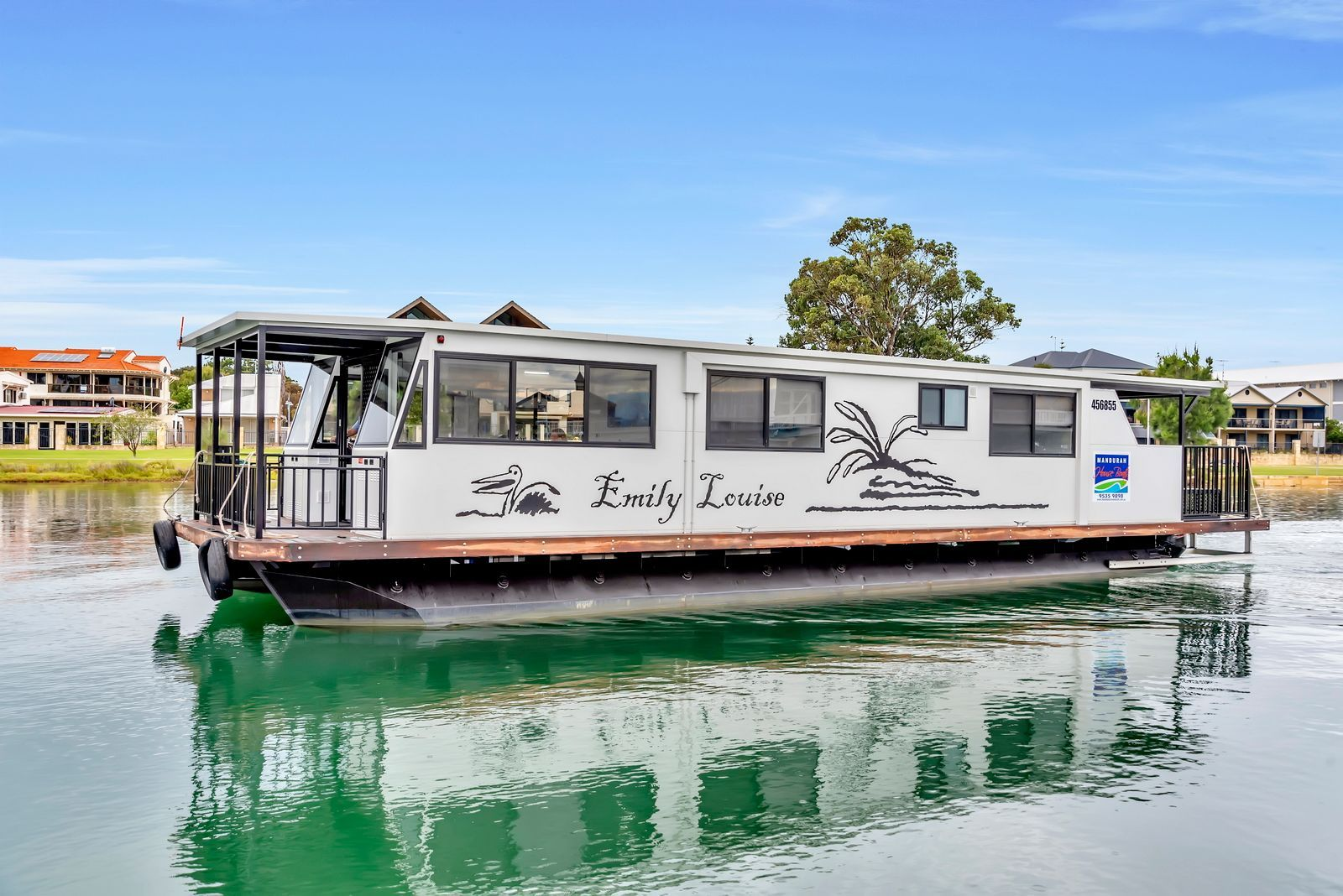Emily Louise Houseboat with Mandurah Holidays