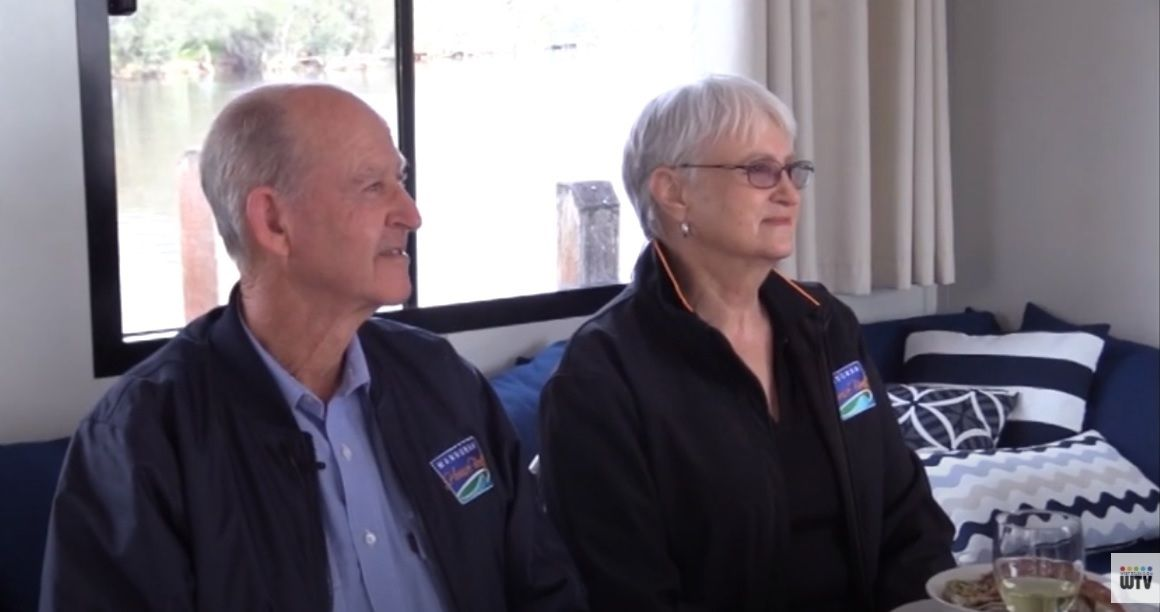 Mandurah Houseboats on Perth TV