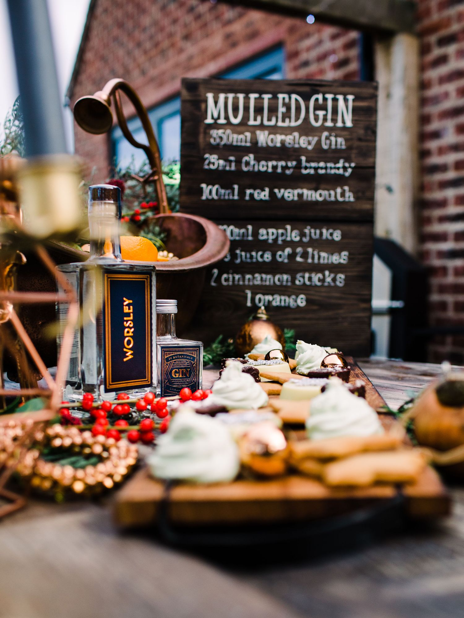 Mulled Gin Sign