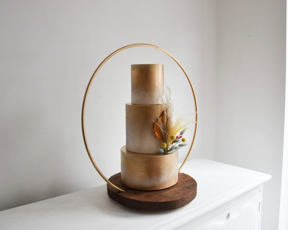 Luxury 60cm Hoop Wedding Cake Stand