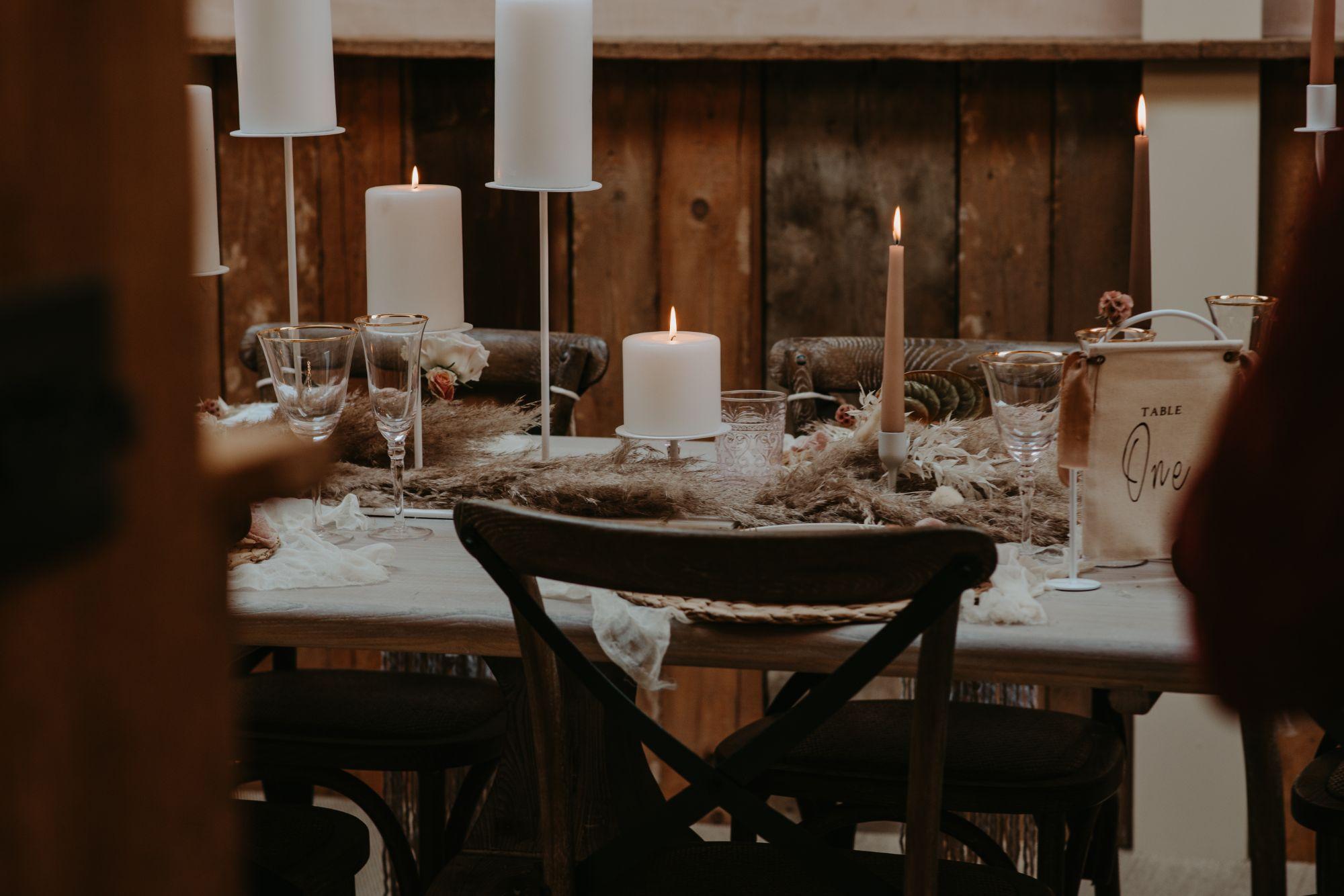 wedding candles inspiration