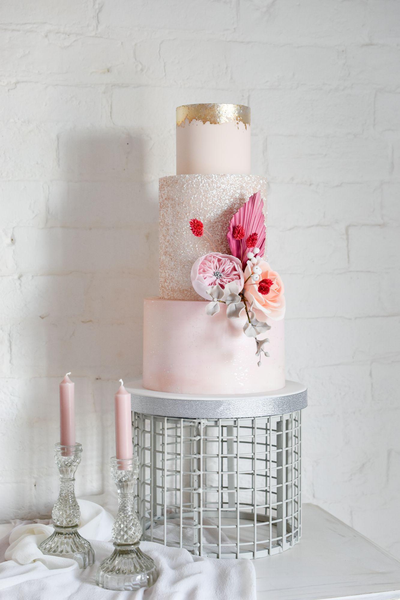 metal cake display stand