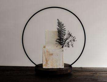 50cm Hoop Wedding Cake Stand