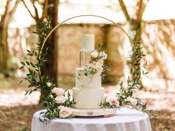 80cm Wedding Cake Hoop Stand
