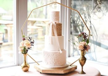 Nonagon Cake Stand