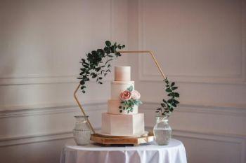Luxury Hexagon Cake Stand