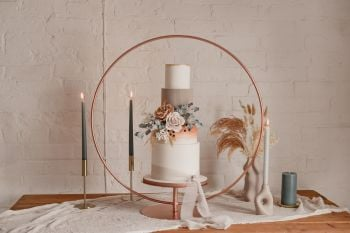 NEW IN - 80cm Floating Cake Hoop Stand