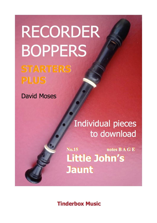 STARTERS PLUS individual pieces no.15 LITTLE JOHN'S JAUNT  download