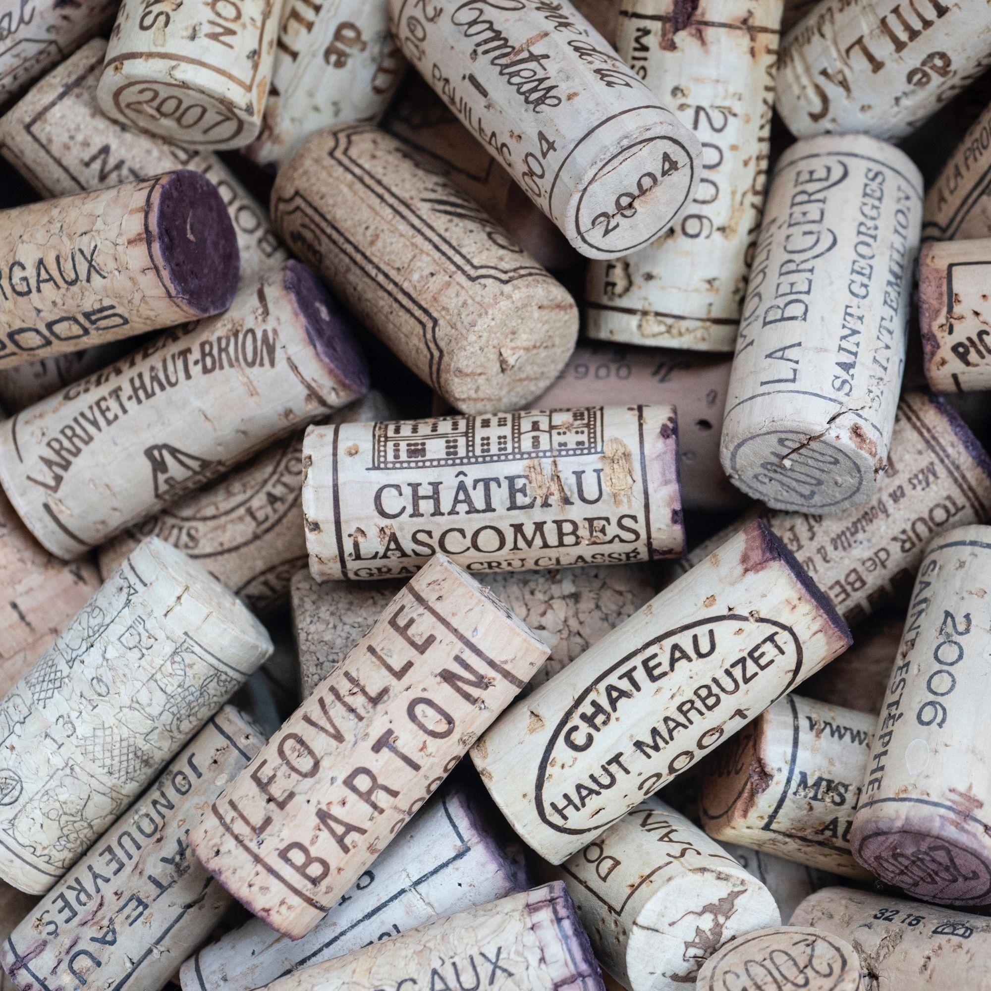 Wine corks, Photo © Elisha Terada