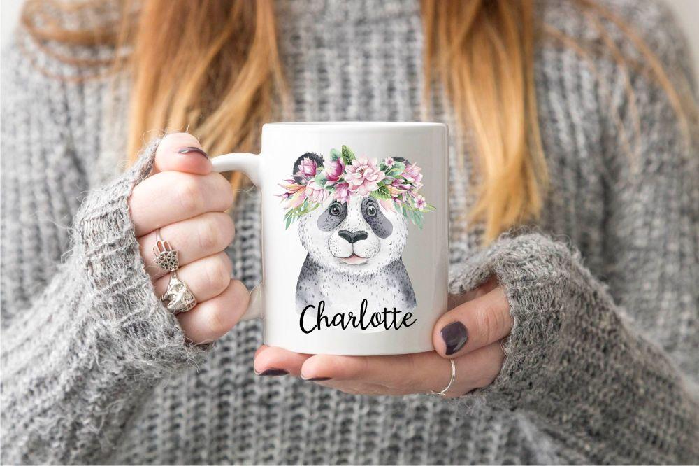 Personalised Panda Mug