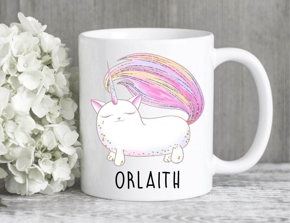 Personalised Unicorn Mug
