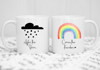 After the Storm comes the Rainbow Mug Gift