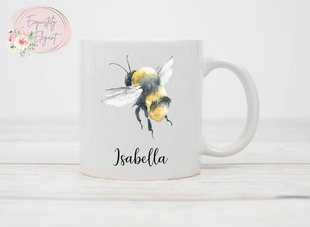 Personalised Bumble Bee Mug