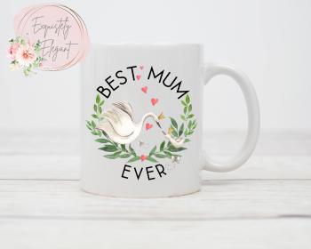 Mum Swan Mug
