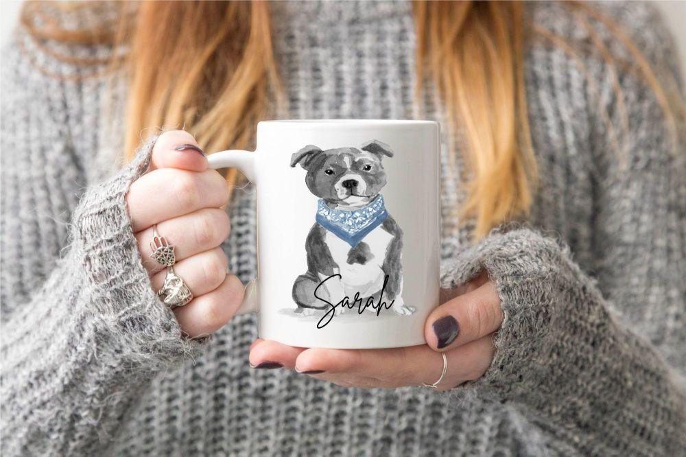 Staffie Dog Mug