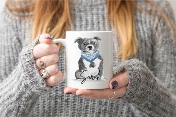 Staffie Dog Mug