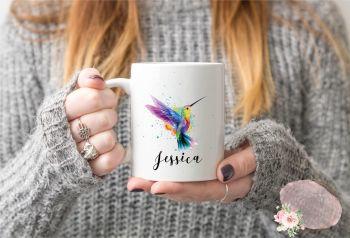Hummingbird Mug, Bird Mug