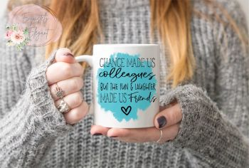 Work Office Friend Mug - Turquoise