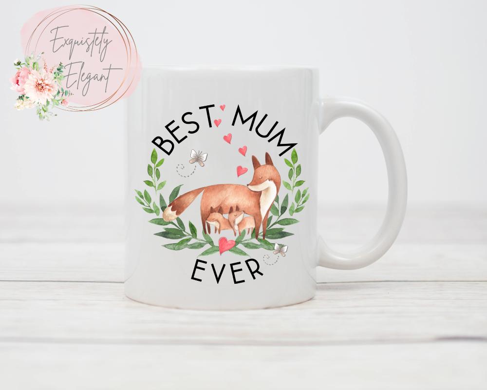 Mum Fox Mug