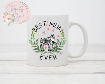 Mum Zebra Mug