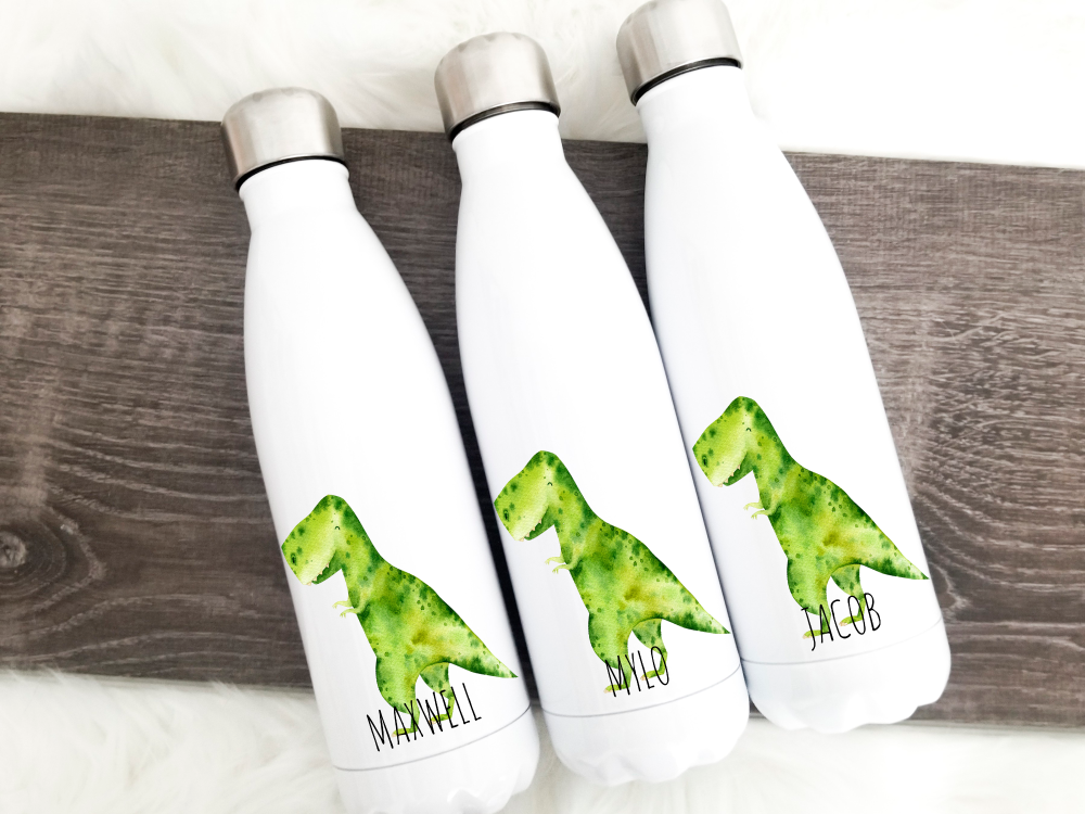 Dinosaur T-Rex Double Wall Bottle