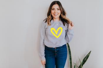 Big Love Heart Sweatshirt